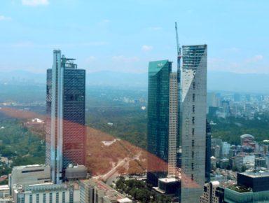 Бизнес центр Мехико Сити на Пасео де Реформа