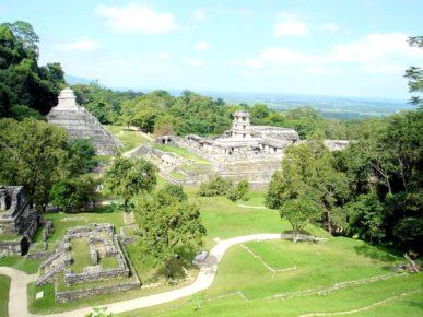 Древний город индейцев майя Паленке, город в котором сбываюся мечты, штат Чиапас