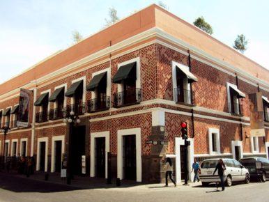 Музей Ампаро города Пуэбла, Мексика