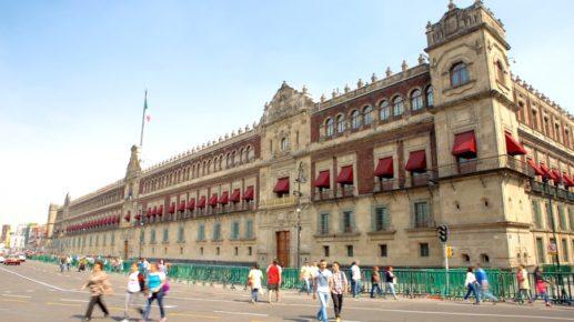 Национальный Дворец на площади Конституции, Мехико Сити