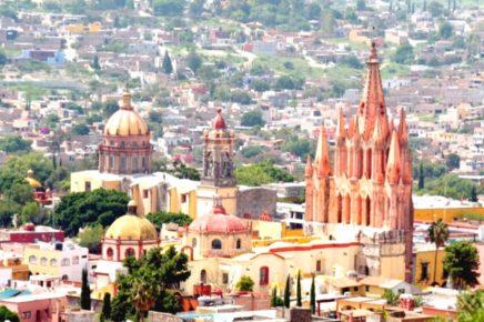 Неповторимый город Сан Мигель де Альенде, Гуанахуато
