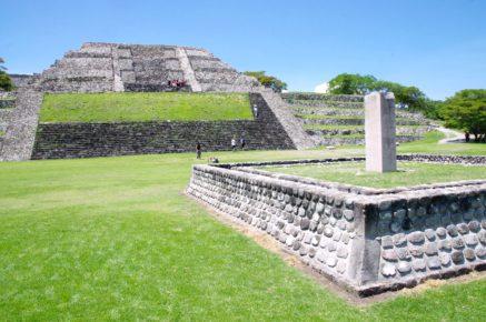 Пирамиды Шочикалько на вершине горы штата Морелос, Мексика