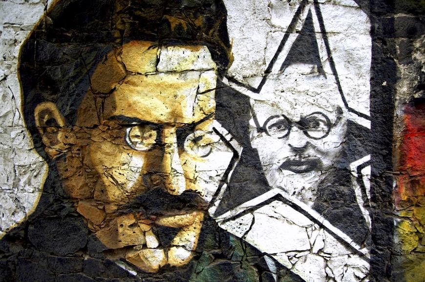 Революционер Троцкий бежал в Мексику от преследования однопартийцев