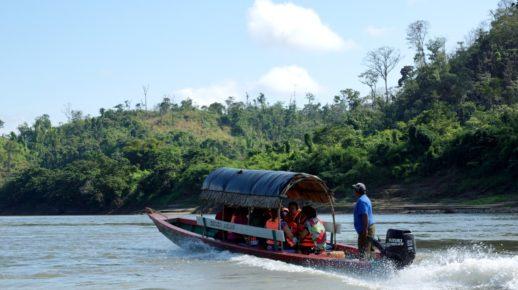 Прогулка по реке Усумасинта, Мексика-Гватемала