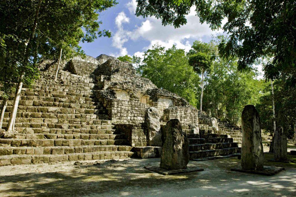 Экскурсия в Калакмуль, Мексика,