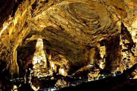 Огромная пещера Какауамильпа
