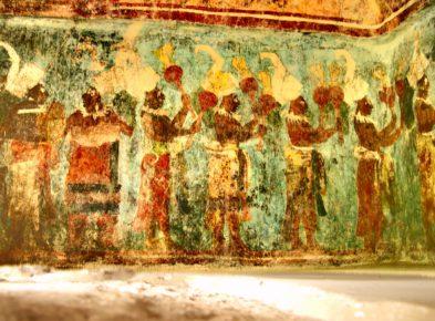 Храм Фресок, город Бонампак, штат Чиапас