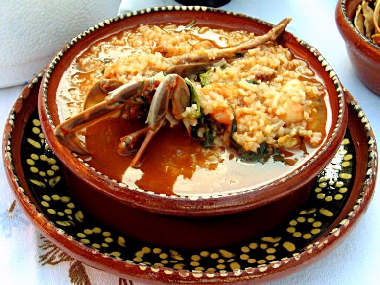Рис Тумбада - традиционное мексиканское блюдо штата Веракрус, Мексика