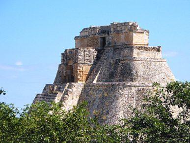 Верхушка Великой Пирамиды , Ушмаль, штат Юкатан