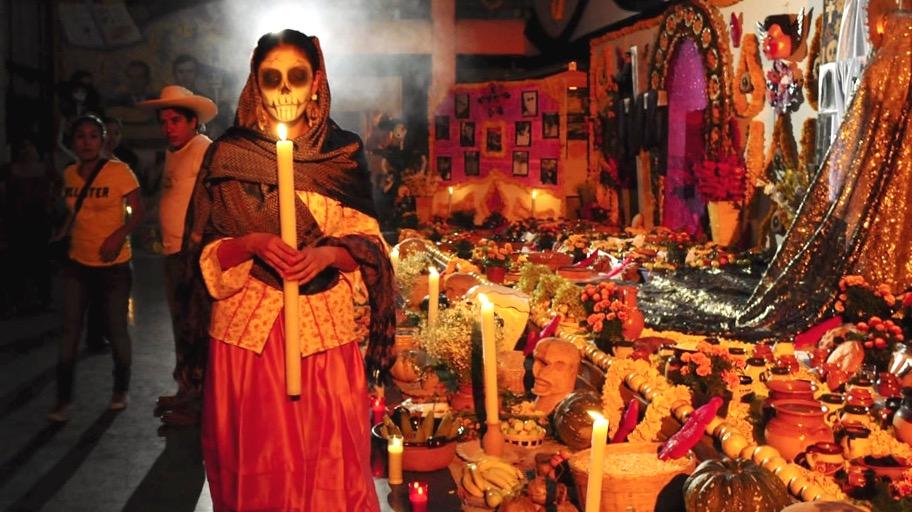 Алтарь в День Мертвых, Мексика