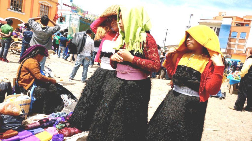 Женская повседневная национальная одежда индейцев Цоциль, деревня Сан Хуан Чамула, Мексика