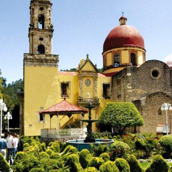 Приходской Храм Непорочного Зачатия, Минераль дель Чико, Мексика