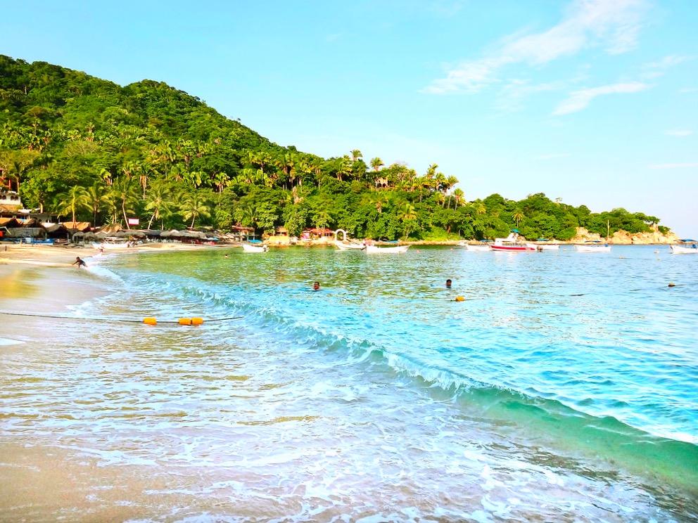 Знаменитый пляж Мисмалойа, Тихий океан, Мексика