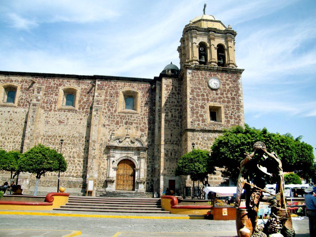 приходской храм Ла Пурисима, Сантьяго де Текила, штат Халиско