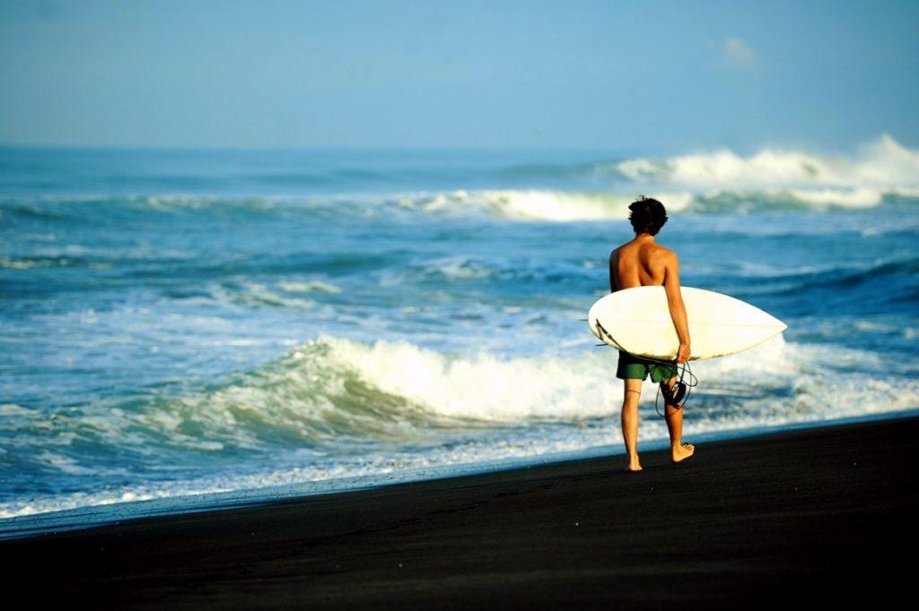 Серфинг в Мексике, пляж Бока де Паскуалес