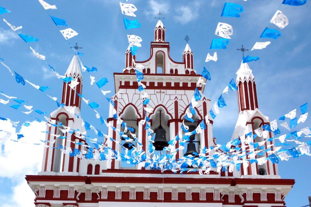 Несравненная архитектура религиозных зданий города Сан Кристобаль, Темпло де Мехиканос, штат Чиапас
