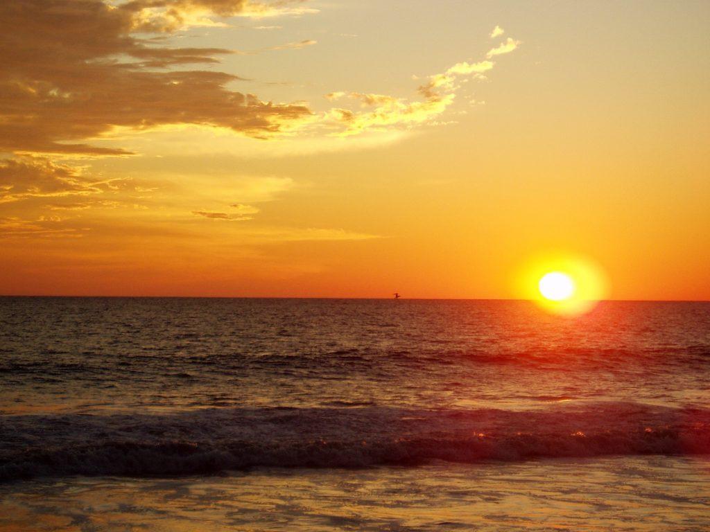 Закаты на Тихом Океане, Плайа Вентура, Мексика