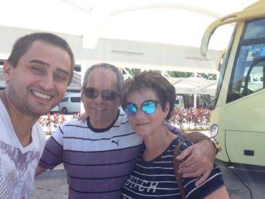 Израильские туристы в Мексике - это норма! Юрий и Виктория - жду в гости!