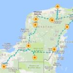 5-дн маршрут Юкатан по часовой стрелке
