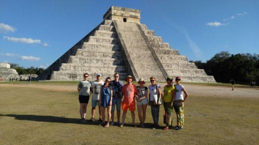 Экскурсия по пирамидам на Юкатане