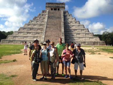 Наша группа в Мексике