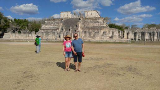 Индивидуально в Чичен Ица Мексика