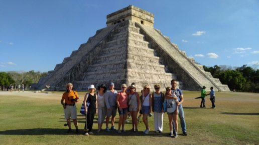 Туристы в Мексике
