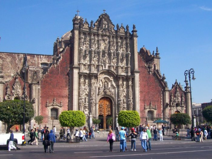 Ризница при кафедральном соборе в Мехико сити