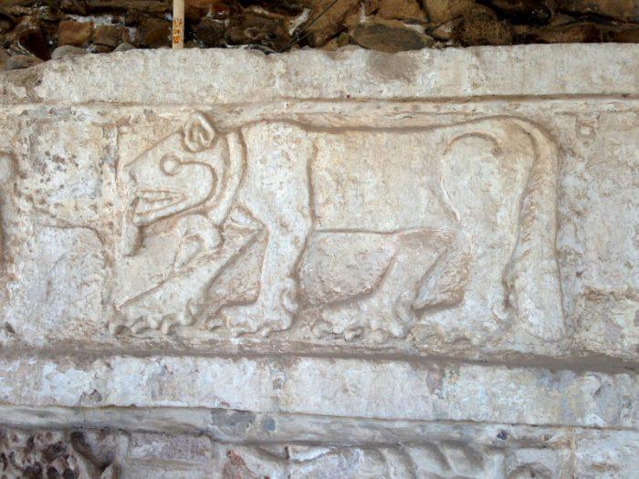 Барельеф Ягуара, археологическая зона Тула