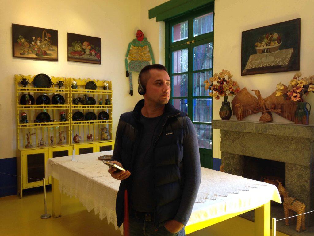 Столовая в доме Фриды Кало