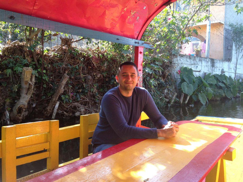Арсен в парке Сочимилько
