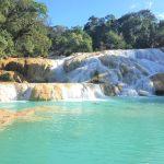 День 24: Сан Хуан Чамула, водопад Асуль и Мисоль Ха