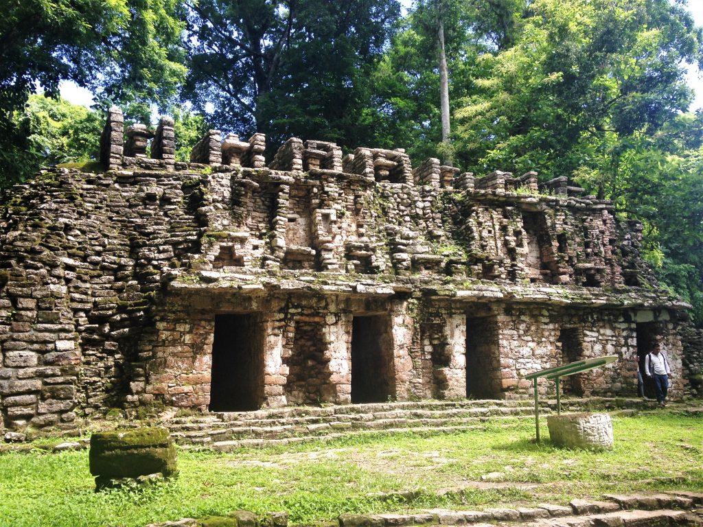 Руины города Яшчилан