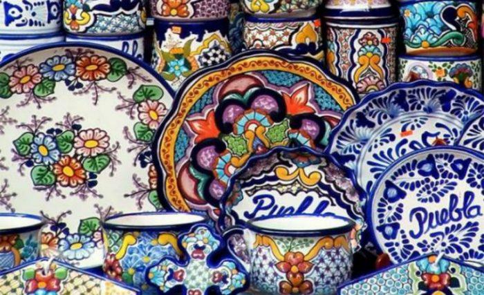 Керамическая посуда Талавера