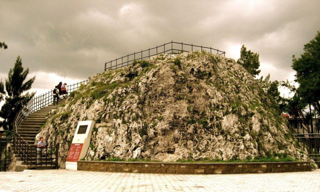 Самый маленький вулкан в мире.
