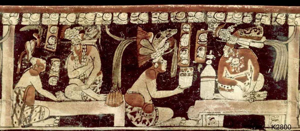 бог какао в мифологии майя