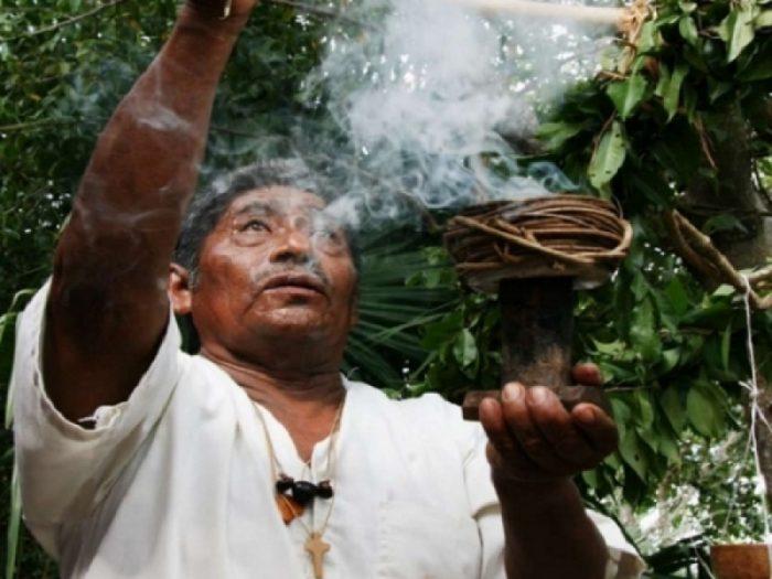 церемония майя