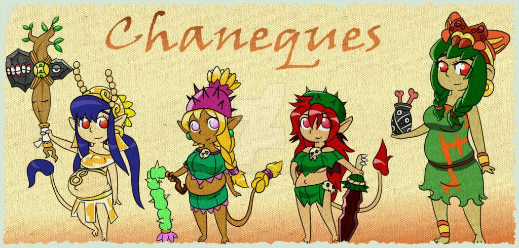 Чанеке - духи или эльфы в поверьях майя.
