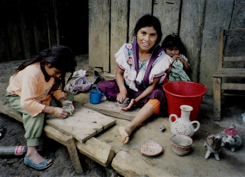 Гончарной продукцией богат город Амантенго-дель-Валье, штат Чьяпас