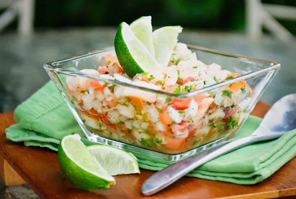 Севиче или морской салат.
