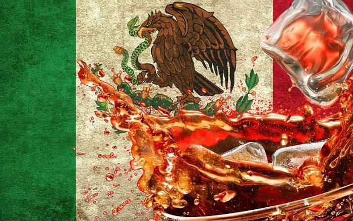 Кока-кола стала национальным напитком в Мексике.