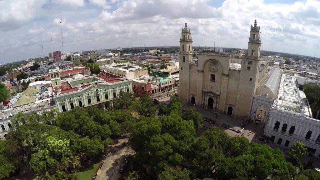 город Мерида, Юкатан, Мексика