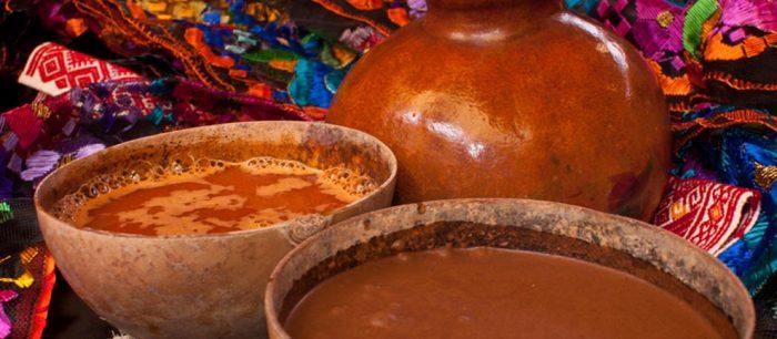 Посоль - напиток из кукурузы с добавлением какао и специй
