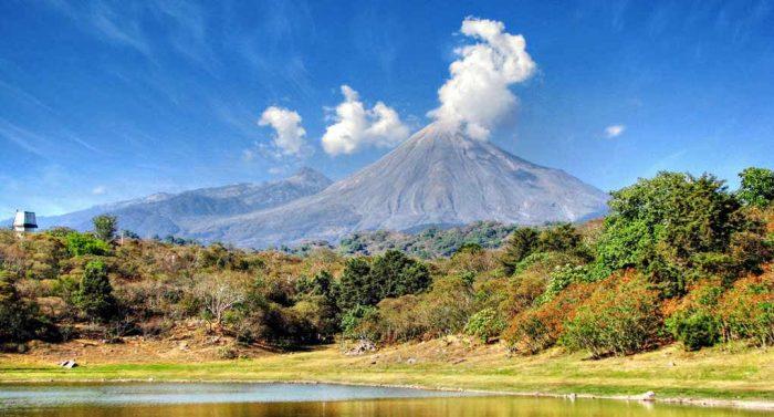 вулкан Колима, штат Колима