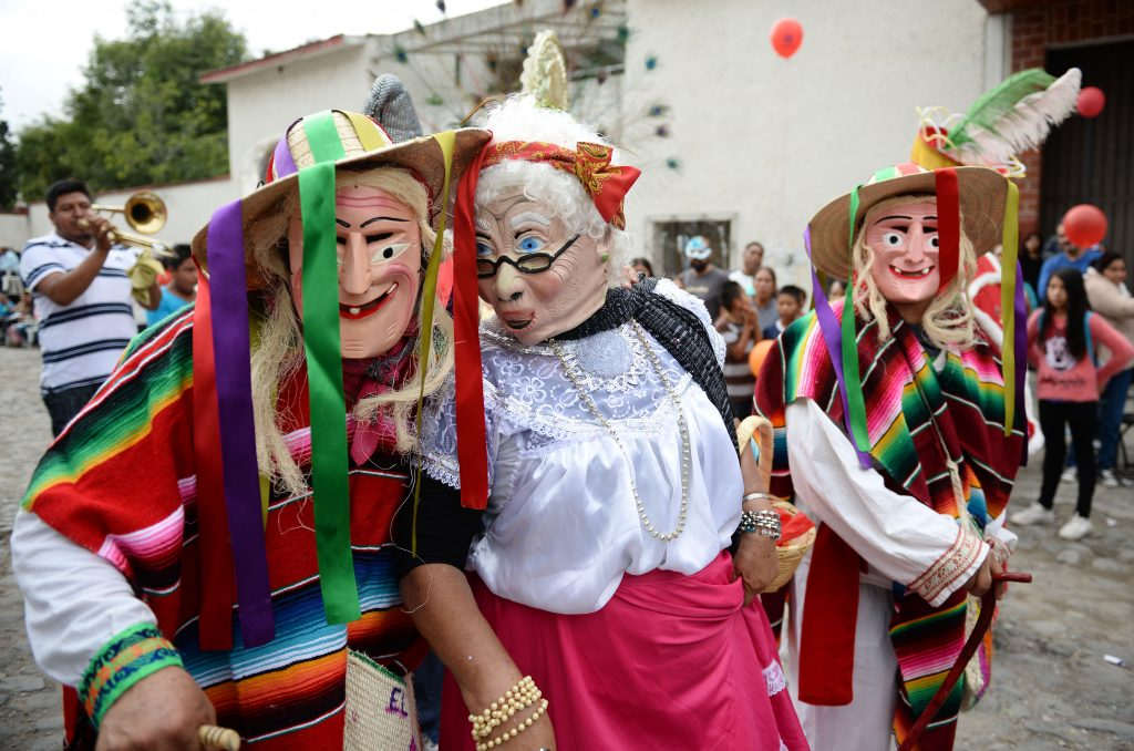 карнавал, маски, мексика