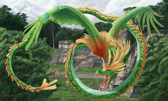 Кецалькоатль - пернатый змей