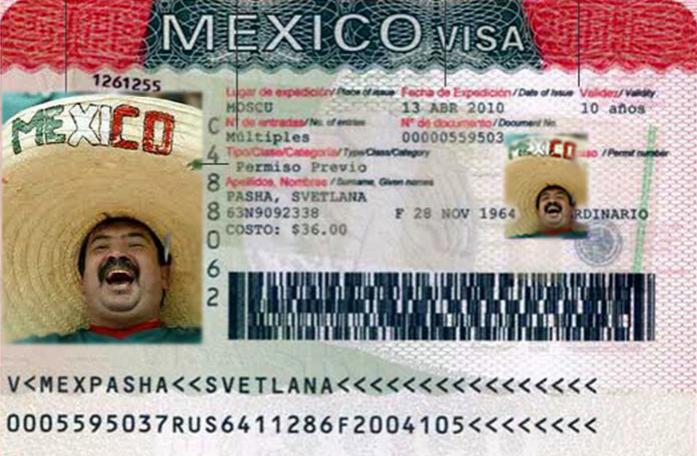 Виза в Мексику