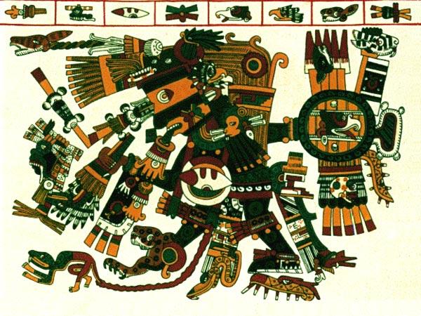Кавиль (Kauil) - один из верховных богов майя
