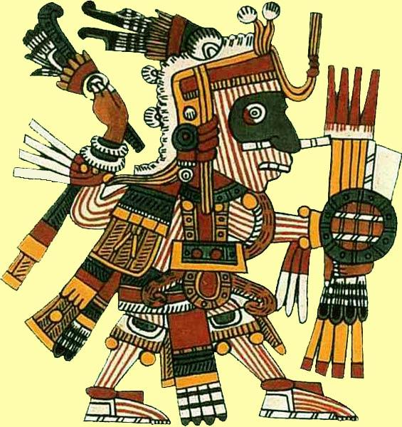 Мишкоатль (Mixcoatl) - облачный змей