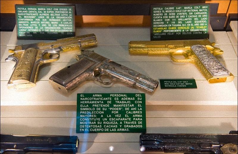 Оружие наркодилеров в Мексике